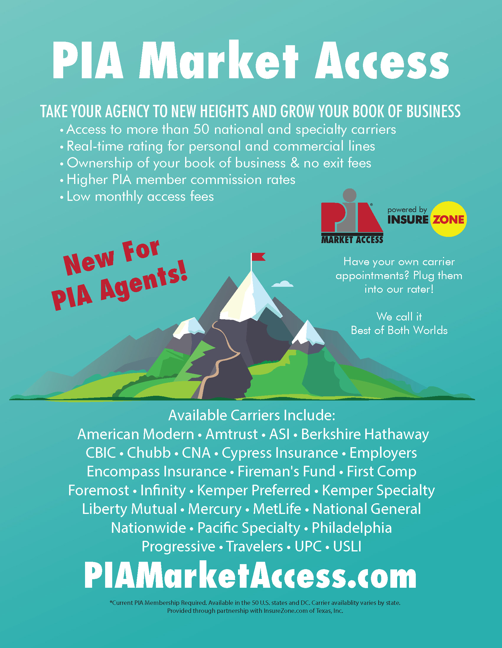 PIA Market Access Flyer